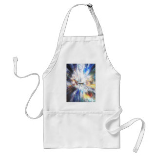 Space Clouds Craft Adult Apron