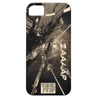 Space Combat vintage comic iphone case