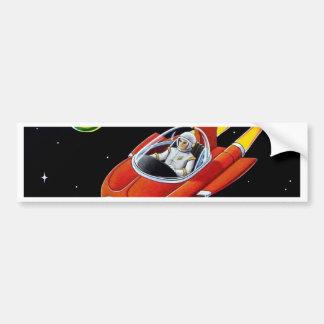 SPACE COUPE BUMPER STICKER