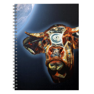 Space cow notebook