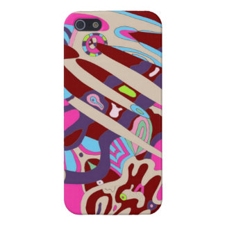 Space Creature Digital Art Poster iPhone 5/5S Cover