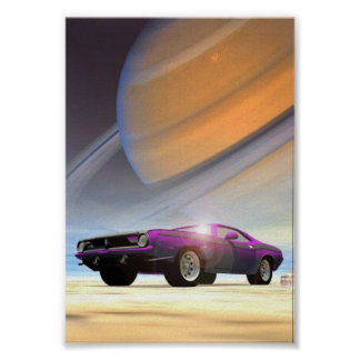 Space Cuda Poster