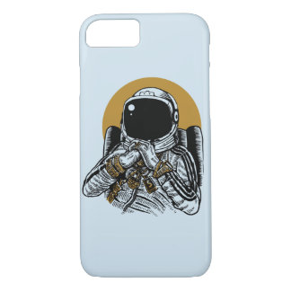 Space Dee Jay Glossy Phone Case