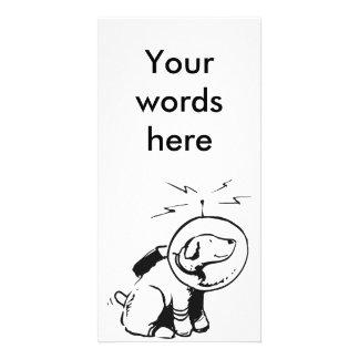 Space Dog Photo Card