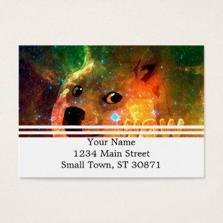 space - doge - shibe - wow doge business card