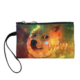 space - doge - shibe - wow doge coin purse