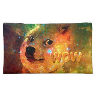 space - doge - shibe - wow doge cosmetic bag