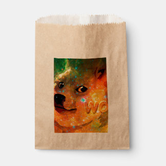 space - doge - shibe - wow doge favour bag