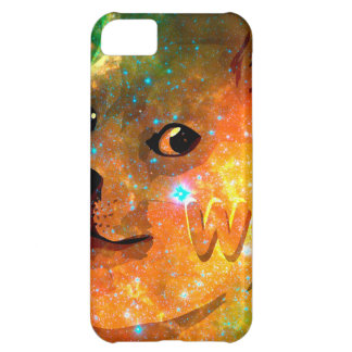 space - doge - shibe - wow doge iPhone 5C case