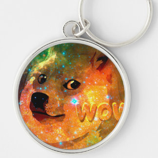 space - doge - shibe - wow doge key ring