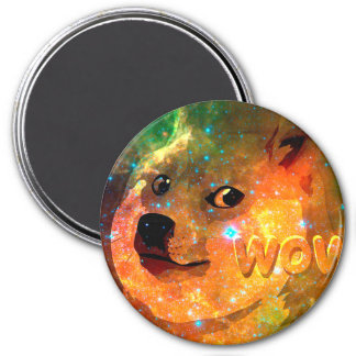 space - doge - shibe - wow doge magnet