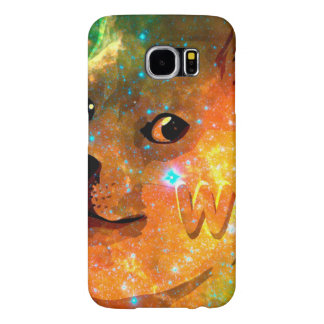 space - doge - shibe - wow doge samsung galaxy s6 cases