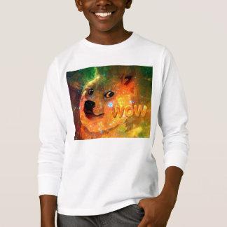 space - doge - shibe - wow doge T-Shirt