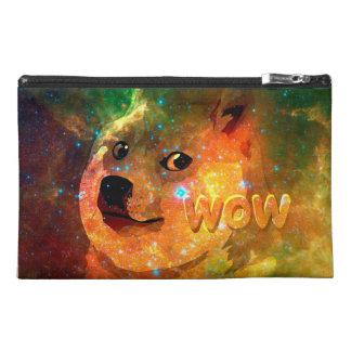space - doge - shibe - wow doge travel accessory bag
