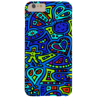 Space Doodle #1 Barely There iPhone 6 Plus Case