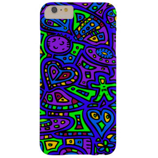 Space Doodle #2 Barely There iPhone 6 Plus Case