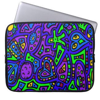 Space Doodle #2 Laptop Sleeve