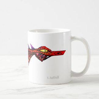 Space Dragon - Template Image Classic White Coffee Mug