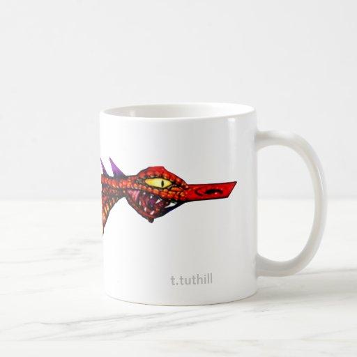 Space Dragon - Template Image Mug