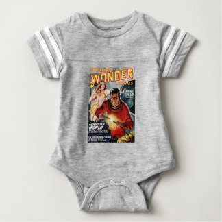 Space Electrician Baby Bodysuit