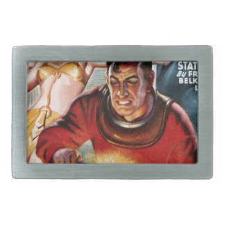 Space Electrician Belt Buckle