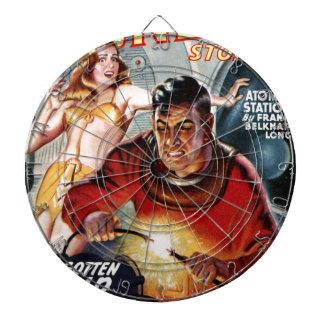 Space Electrician Dartboard