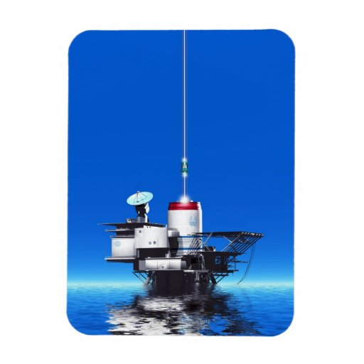 Space Elevator Rectangular Magnet