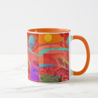 Space Explorer Ringer Mug