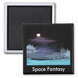Space Fantasy, Space Fantasy Square Magnet