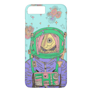 Space Fish phone case