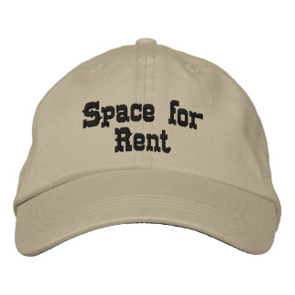 Space for Rent Ball Cap Embroidered Hats