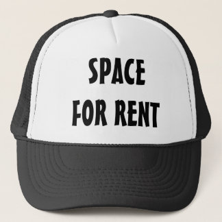 SPACE FOR RENT TRUCKER HAT