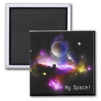 Space fridge magnet