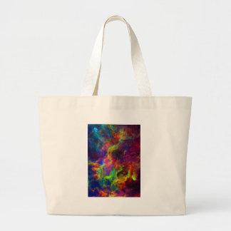 Space, Galaxy, Universe Canvas Bag