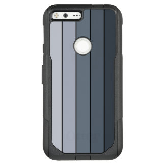 Space Gray Stripes OtterBox Commuter Google Pixel XL Case