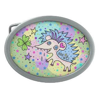 Space Hedgehog☆ Belt Buckle
