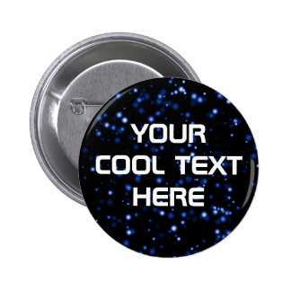 """""""Space Hike"""" Template Pinback Button"""