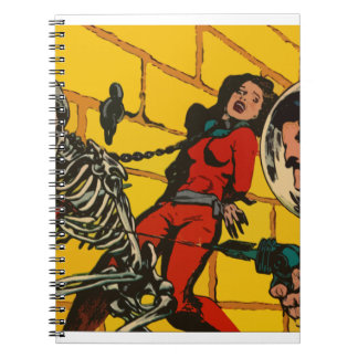Space Horror - Vintage Science Fiction Comic Art Journal
