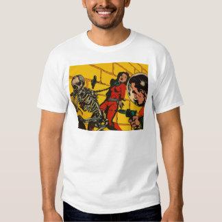 Space Horror - Vintage Science Fiction Comic Art T Shirt