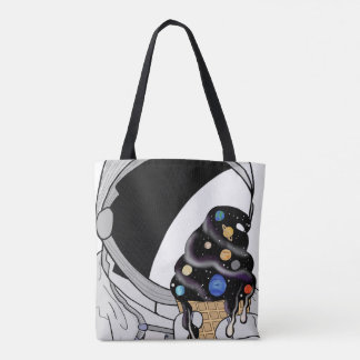 Space Ice Cream Tote Bag