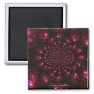 Space Image Square Magnet