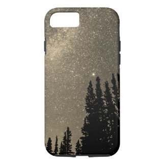 space in the woods sepia iPhone 8/7 case