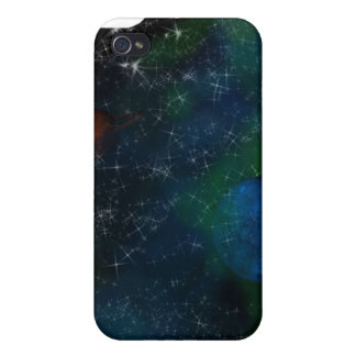 Space  cover for iPhone 4