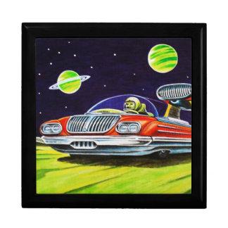 SPACE JET CAR LARGE SQUARE GIFT BOX