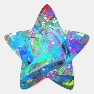 Space Juice Star Sticker