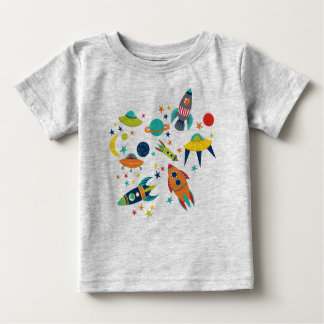 Space Kids Baby T-Shirt