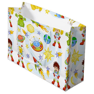 Space Kids Gift Bag - Large, Glossy
