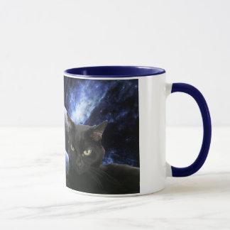 Space kittehs mug