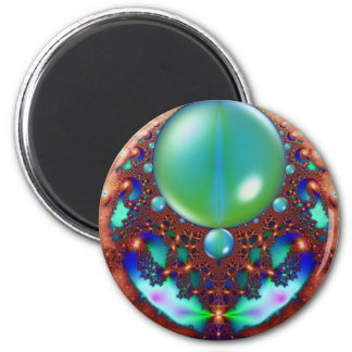 Space Lace Fridge Magnet