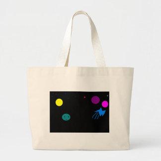 space large tote bag